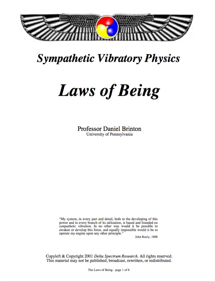 Laws of Being (pdf)