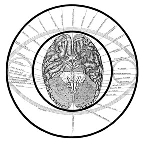 Keely Chart 17 Brain Section in Circle (BandW)