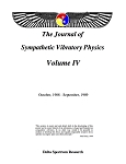 Sympathetic Vibratory Physics, Journal - Vol. 4