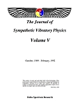 Sympathetic Vibratory Physics, Journal - Vol. 5
