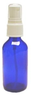 Atomizer Spray 2 oz. empty refill bottle