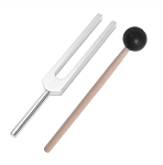 528 Hz Tuning Fork and Mallet