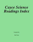 Cayce Science Readings Index