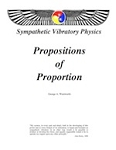 Propositions of Proportion
