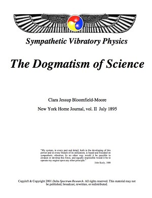 Dogmatism of Science (pdf)