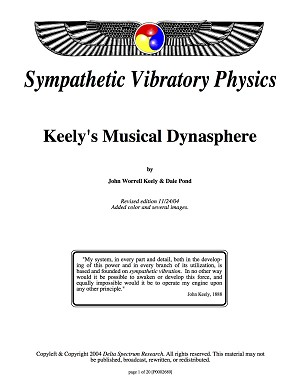 Keely's Musical Dynasphere