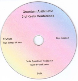 Quantum Arithmetic 3rd Keely Conference