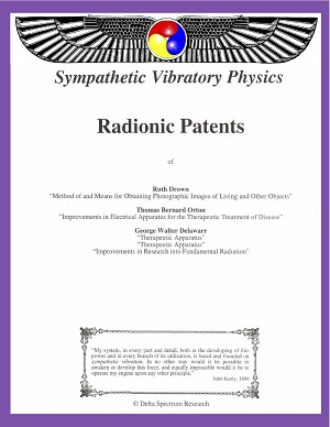 Collection of Radionics Patents