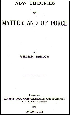 New Theories of Matter and of Force