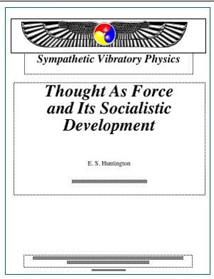 Thought as Force and its Social Implications